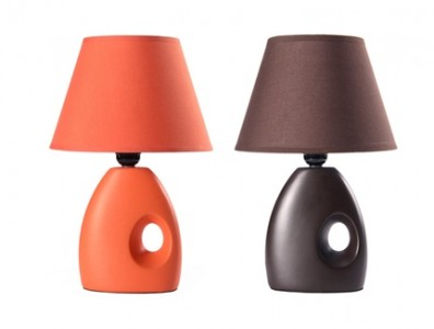halloween lampe orange noir