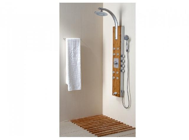Colonne de douche baln o vous ne prendrez plus jamais une simple douche le - Colonne de douche en bois ...