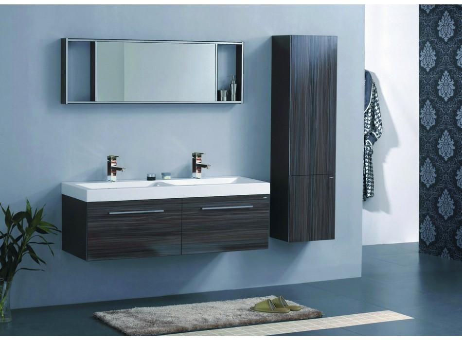 Un meuble de salle bain color design ou classique for Meuble salle de bain colore