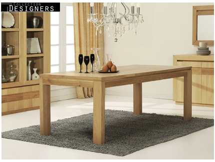 une table manger ronde ou rectangulaire pour votre salon le blog de vente. Black Bedroom Furniture Sets. Home Design Ideas