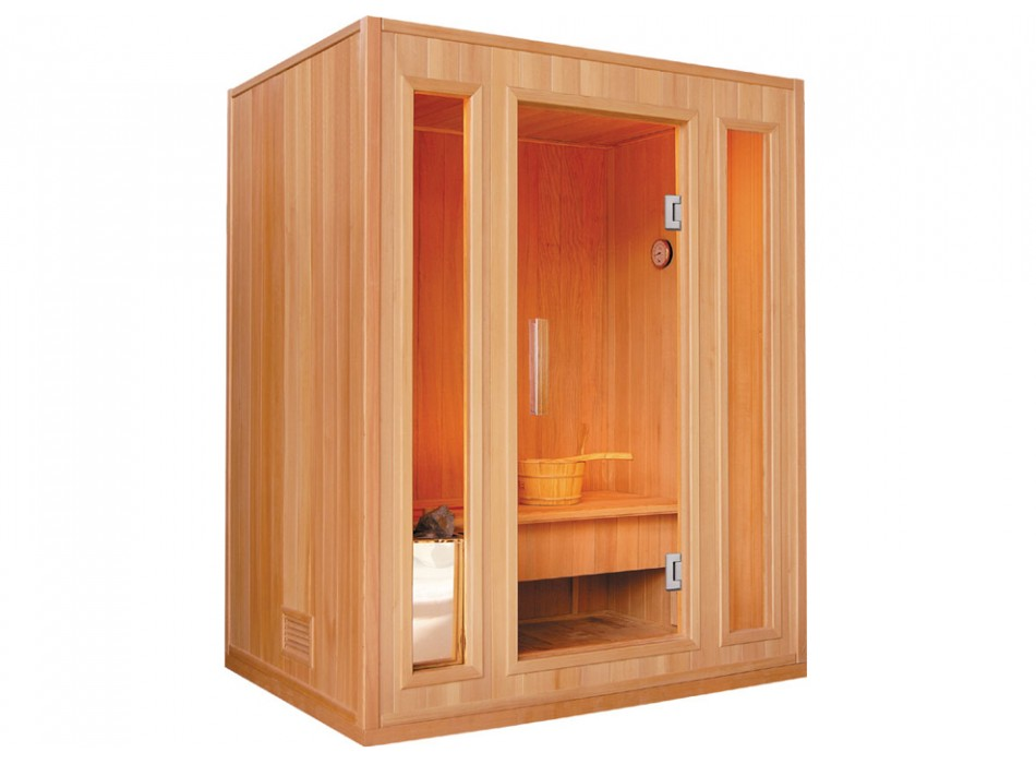 s offrir un sauna domicile sans se ruiner le blog de. Black Bedroom Furniture Sets. Home Design Ideas