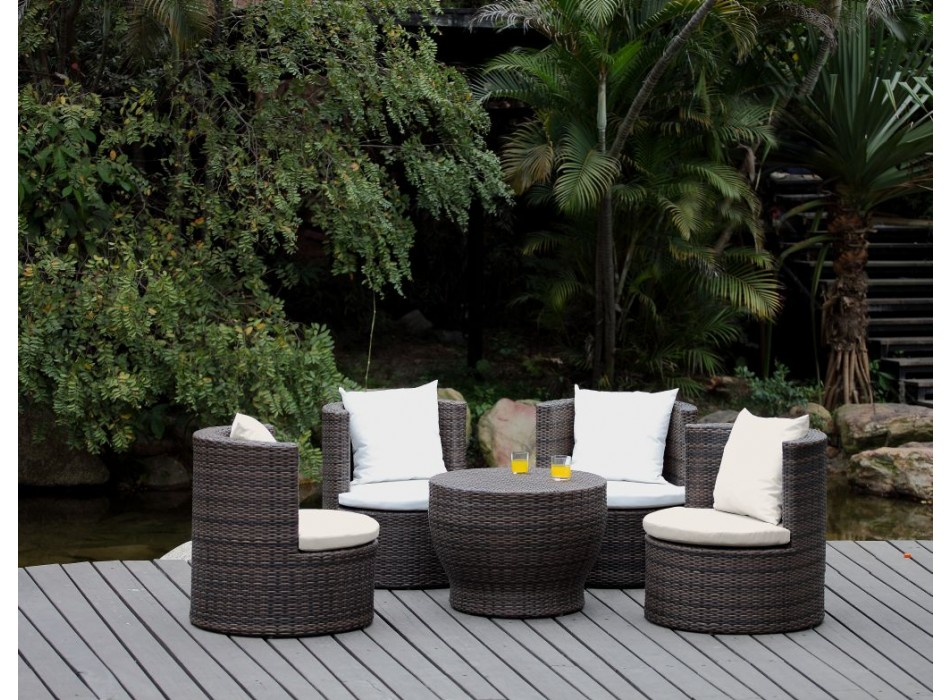 un salon de jardin en r sine tendance et tr s pratique le blog de vente. Black Bedroom Furniture Sets. Home Design Ideas
