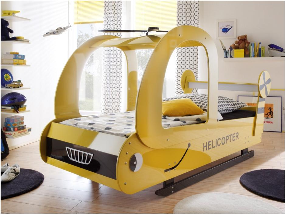un lit h licopt re pour mon enfant le blog de vente. Black Bedroom Furniture Sets. Home Design Ideas