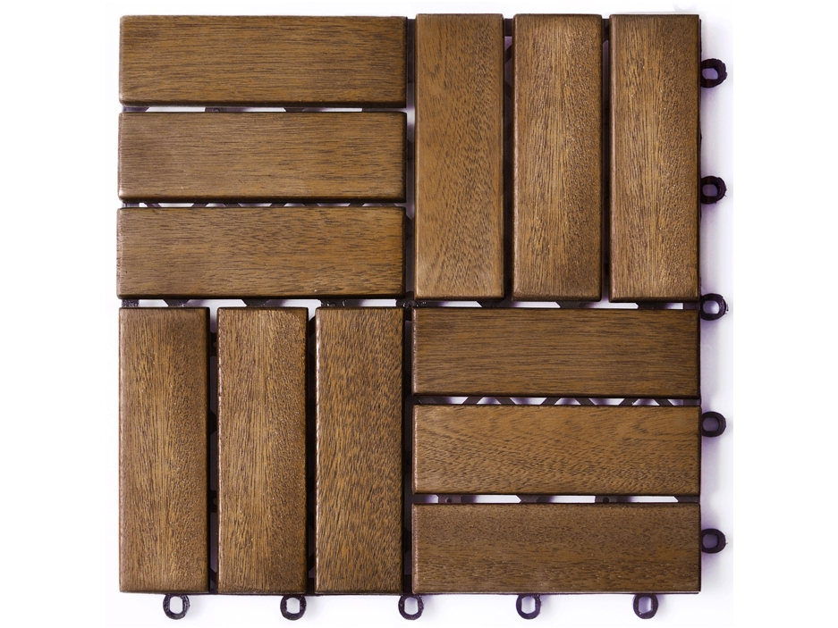 Dalle terrasse imitation bois  acheter avec Faire le Poireau