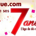 Vente-unique.com fête ses 7 ans, avec vous !
