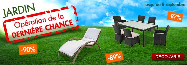 Promos sur le jardin pour prolonger l t le blog de vente - Vente unique com mon compte ...
