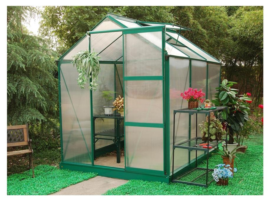 Avec les serres de jardin cultivez vos plantes toute l for Vente plante jardin