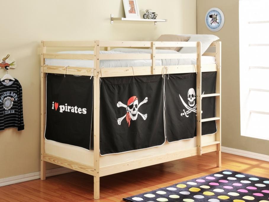 Chambre fille ou chambre gar on a chacun son lit enfant for Meuble avec cachette secrete