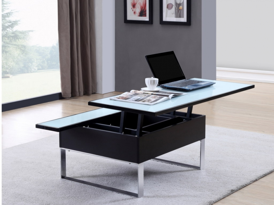 table basse relevable vente unique. Black Bedroom Furniture Sets. Home Design Ideas