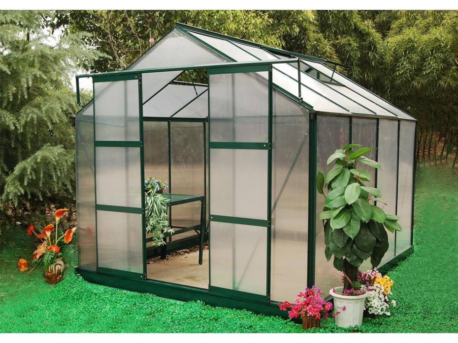 Serre de jardin des plantes magnifiques toute l ann e le blog de vente - Demi serre de jardin ...