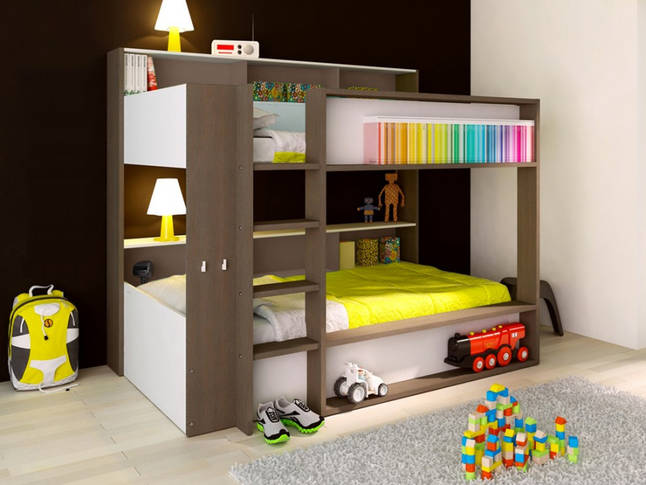lit superpos optimisez l espace de la chambre des. Black Bedroom Furniture Sets. Home Design Ideas