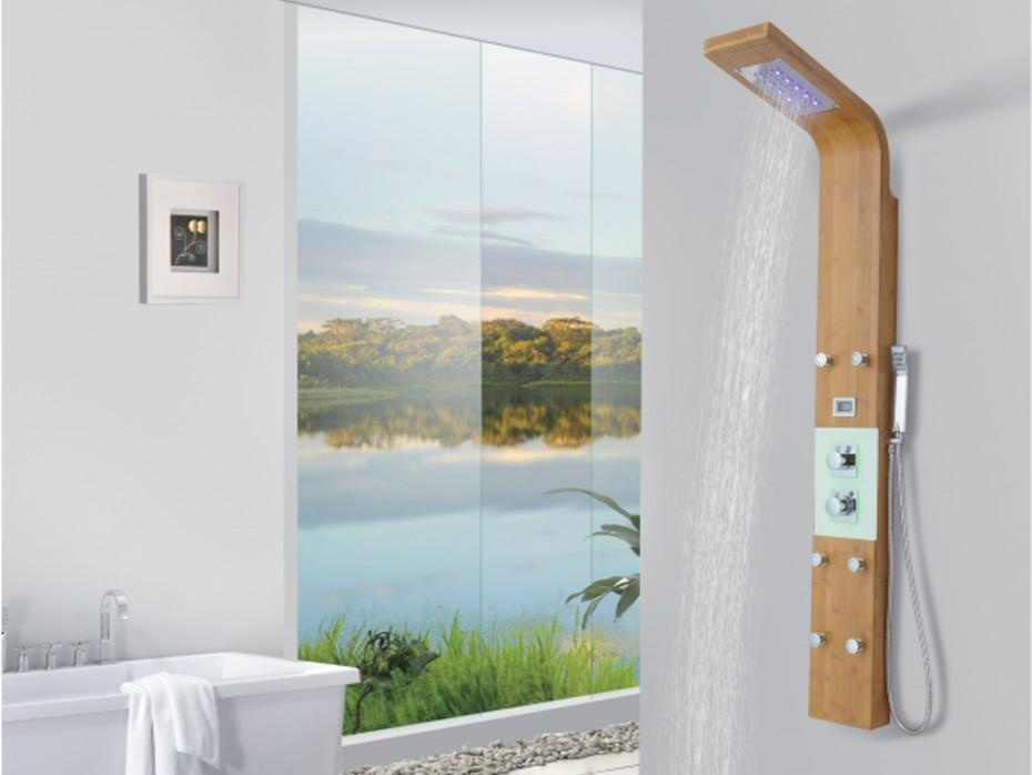 colonne de douche vous allez passer des heures dans la salle de bain le blog de vente. Black Bedroom Furniture Sets. Home Design Ideas