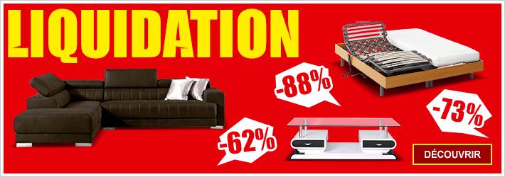 Le blog de vente canap meuble matelas for Entrepot liquidation meubles et matelas