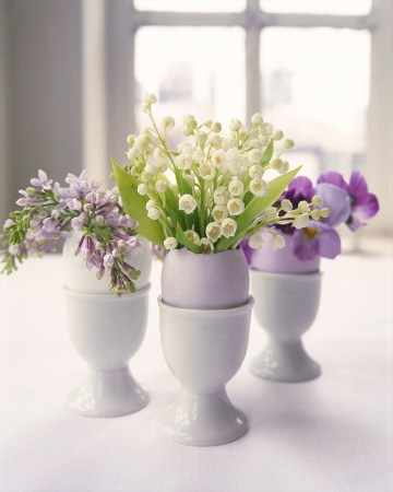 Coquetier vase Pâques