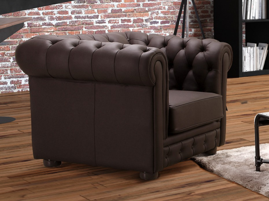 cabriolet crapaud club chesterfield le club des c des fauteuils. Black Bedroom Furniture Sets. Home Design Ideas