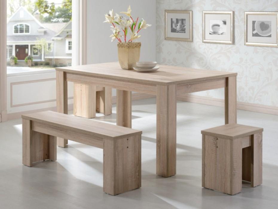 Table salle à manger bancs
