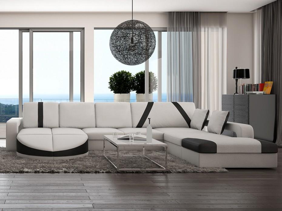 Canapé design graphique