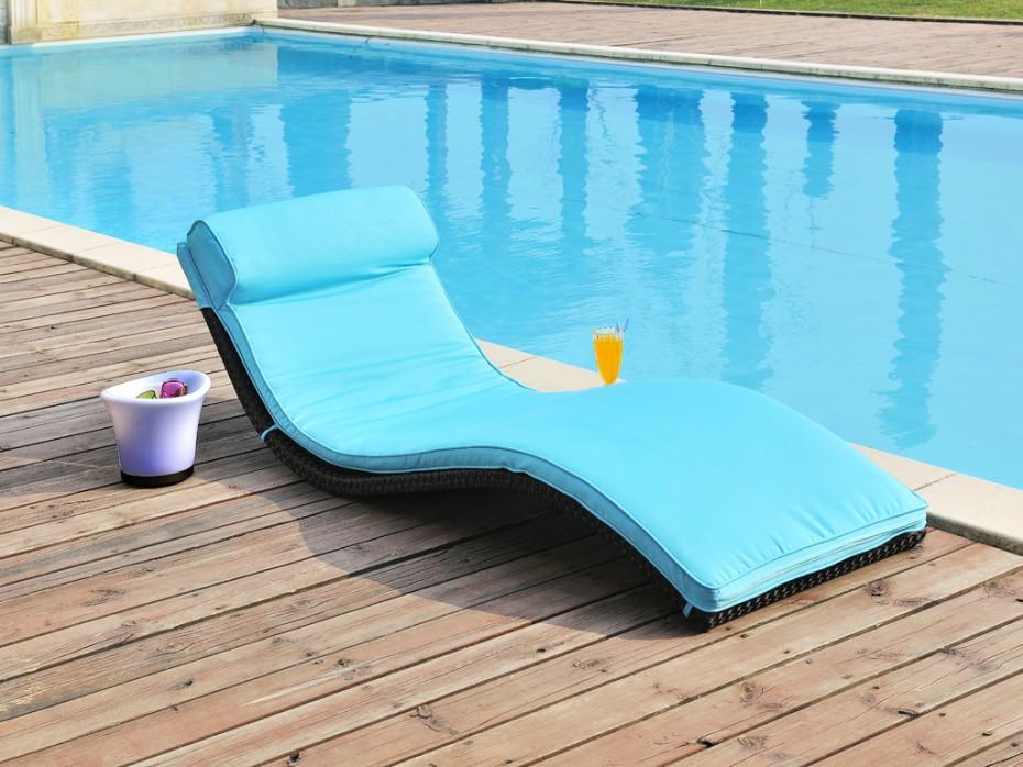 Espace piscine jardin