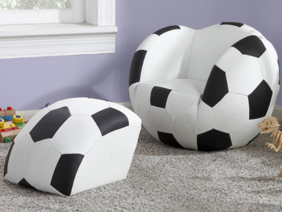 Fauteuil ballon de foot