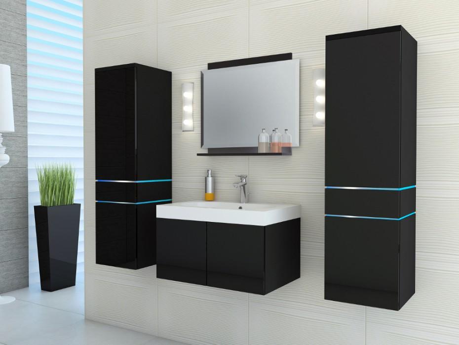 La Salle de bain noire : Cap vers l\'élégance absolue! - Le blog de ...